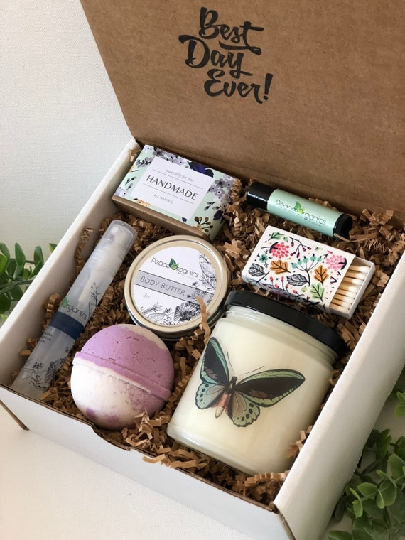 Butterfly Care Package For Her Birthday Present College