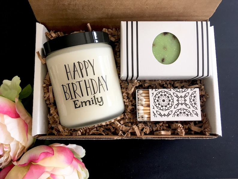 Personalized Gift Customized Candle Birthday Present Custom