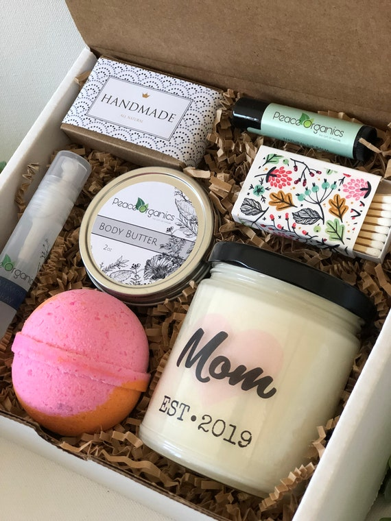 Mom Est Birthday Gift Box New Mother