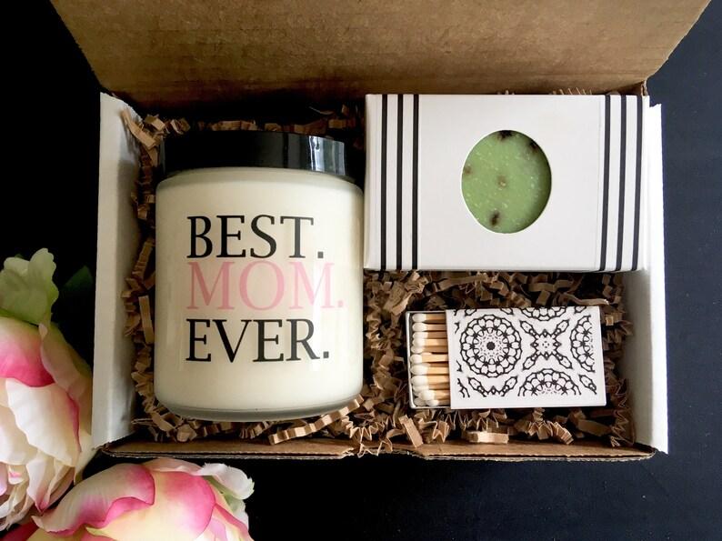 Gift For Mom Birthday Candle Set Bath