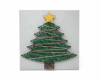 Wall Christmas Tree Etsy