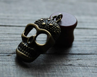 skull ear gauges earrings ear stretchers plugs and tunnels 00g, 10mm,12,14,16,18,20,22,25,30 mm  3/8,1/2,9/16,5/8,11/16,13/16/7/8,1,1 3/16цo