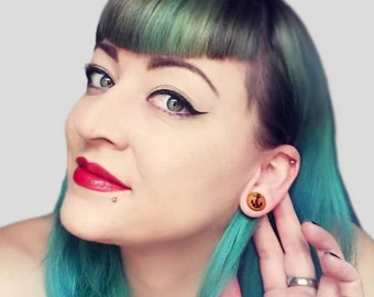 anchor plugs and tunnels, ear piercing, ear gauges, ear stretchers 0g 00g,10mm,12,14,16,18,20,22,25,30 mm  3/8,1/2,9/16,5/8,11/16,1,1 3/16