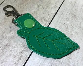 Leaf Keychain - Key Fob
