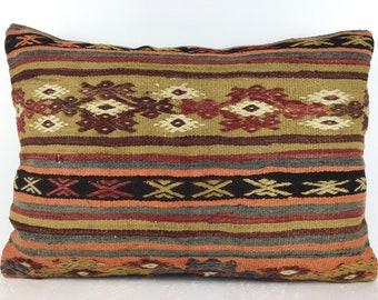 Turkish Handmade Kilim Pillow,Pillow Ethnic Kilim Pillow Kilim Pillow 28x20 inch 70x50 cm Decorative Kilim Pillow Anatolian Kilim Pillow