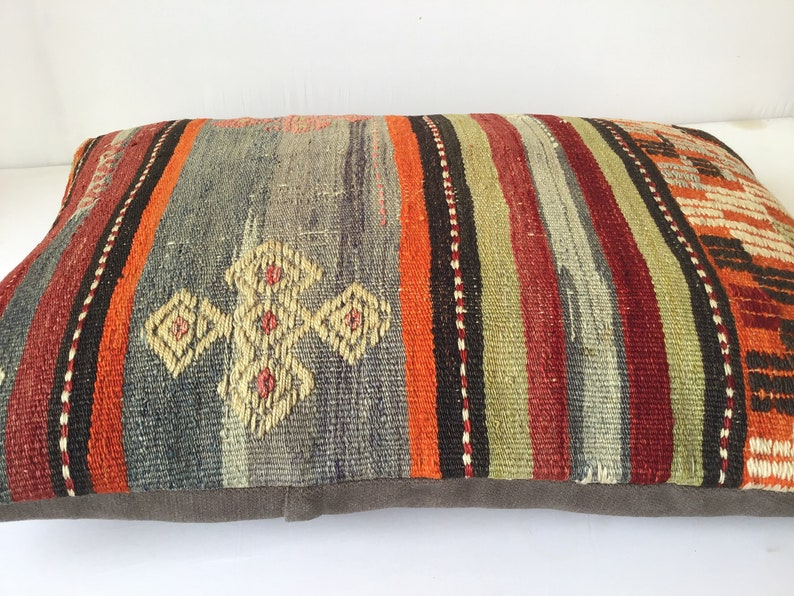 28x20 inch 70x50 cm Decorative Kilim Pillow Turkish Handmade Kilim Pillow,Pillow Kilim Pillow Ethnic Kilim Pillow Anatolian Kilim Pillow