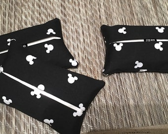Mickey Icon Personal Tissue Holder set of five great for gifts