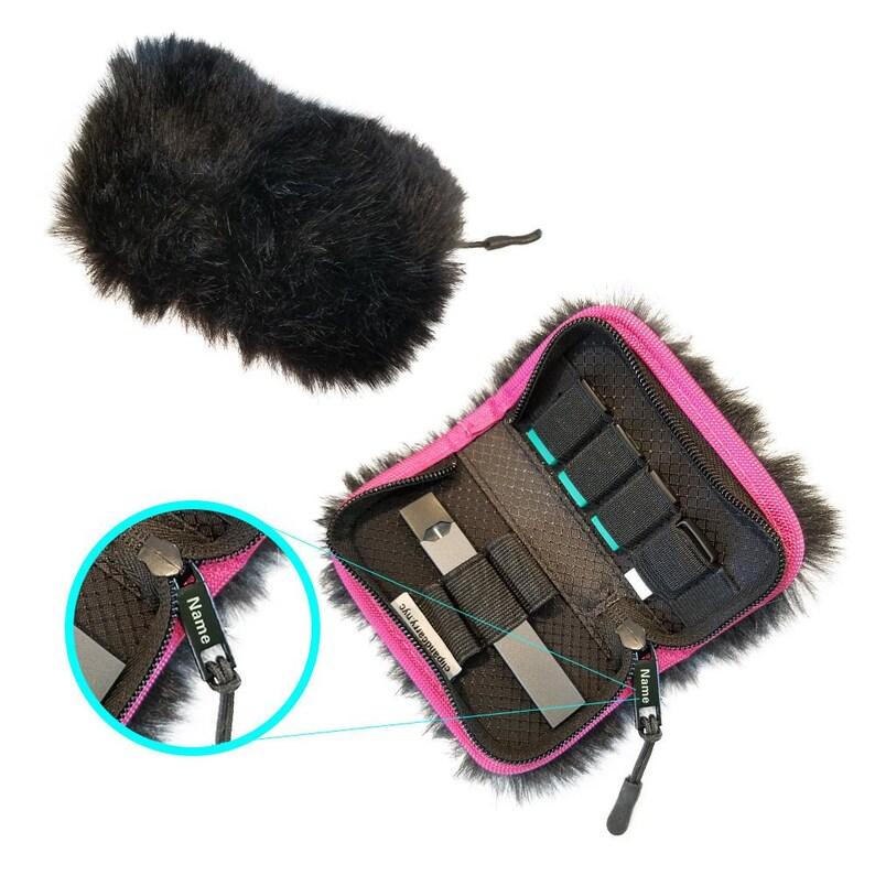 Custom JUUL Carrying Case Wallet Plush Black - Fits JUUL and Most Vape  Devices (Pax Era, Blu, Bo, Rubi, Phix) E-Cig Vape Pods Charger Holder