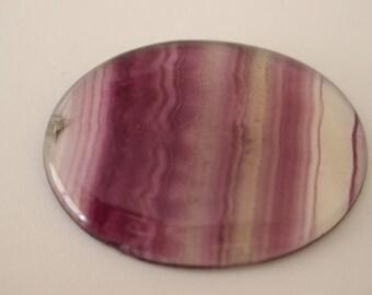 Rainbow fluorite Cabochon