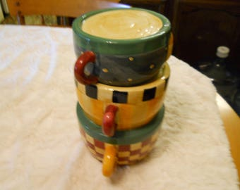Cookie Jar Coffee Cups, Very Cute Jar for Coffee and Cookie Lovers
