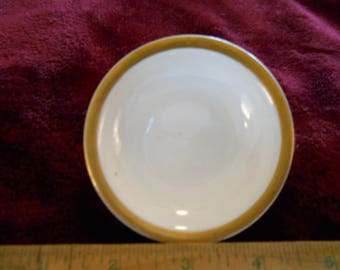 Vintage Antique butter pat plate Theo Haviland Limoges France Fine porcelain. Shabby Chic Collectable