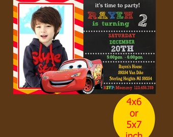 Cars Birthday Invitation, Cars Invitation, Cars Birthday, Cars Party, Printable, Instant Download