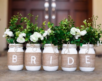 bridal shower mason jar centerpieces bridal shower decorations rustic mason jar centerpiece bridal shower bride mason jars