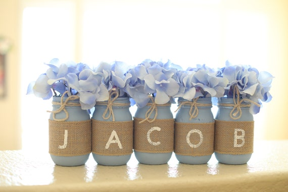Baptism Decorations Boy Baptism Decor Baptism Decorations Etsy