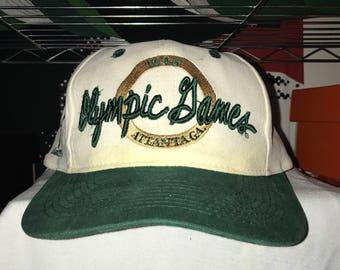 977ad7ae0c0 Vintage Atlanta 1996 Olympics The Game Snapback