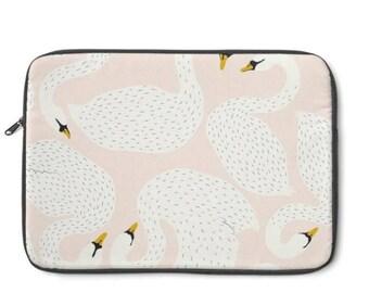 Swan Laptop Sleeve, MacBook Case, Laptop Case, Carry Case, Laptop Bag