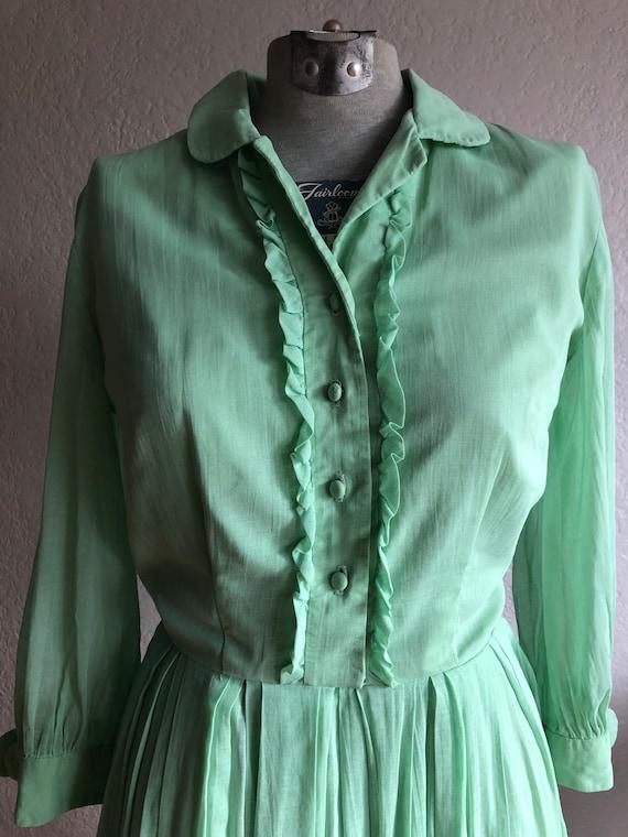 Vintage cotton day dress - image 2