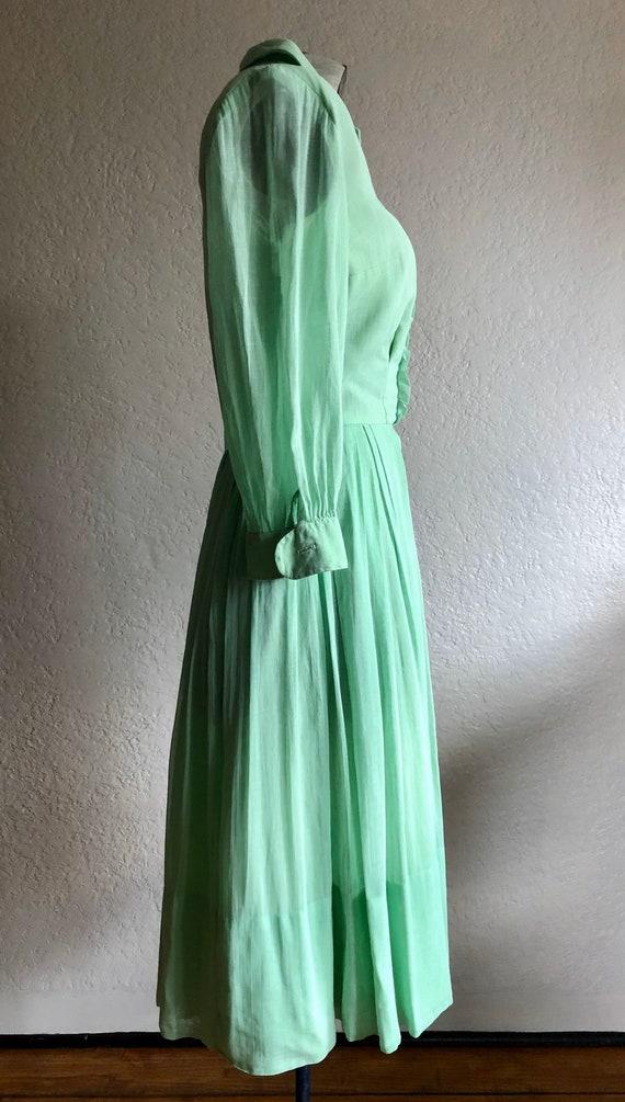 Vintage cotton day dress - image 4