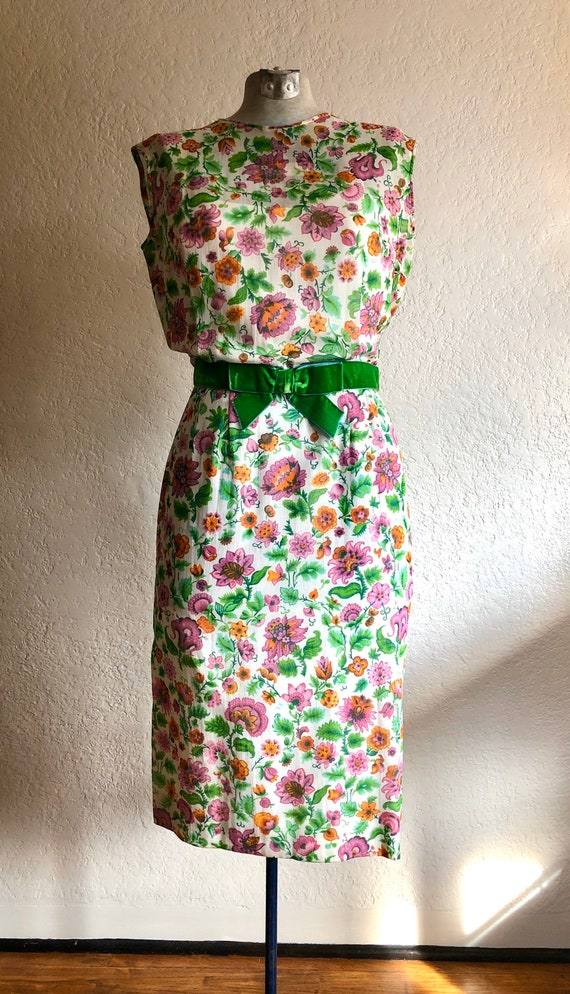 Vintage cotton day dress