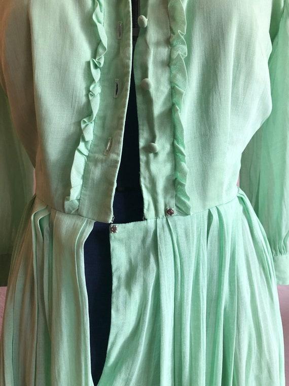 Vintage cotton day dress - image 5
