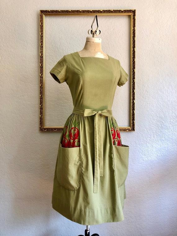 Vintage 1940's Wrap Dress