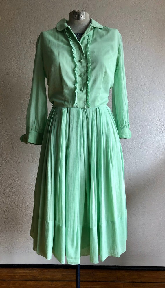 Vintage cotton day dress
