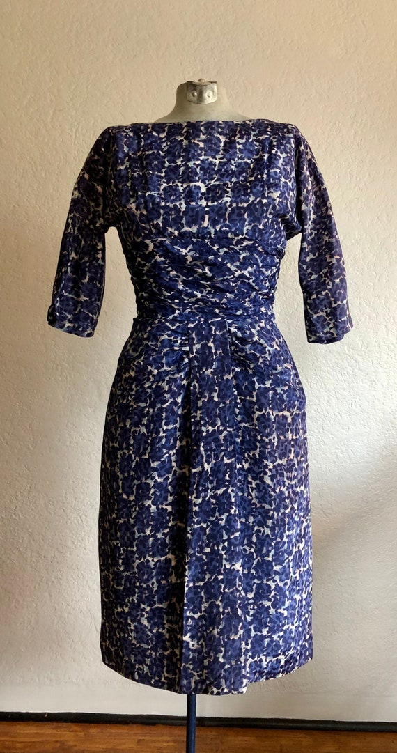 Vintage 1950's Sheath Dress