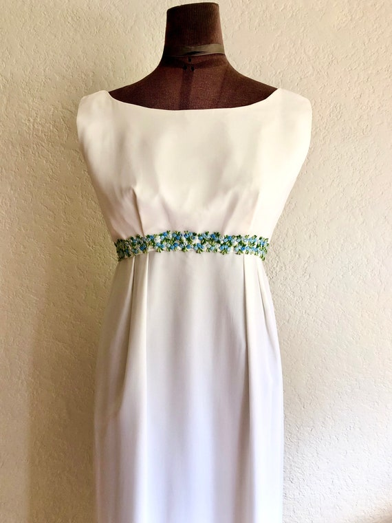 Vintage 1960's Empire Waist Dress