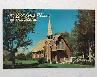 The Wedding Place of The Stars postcard