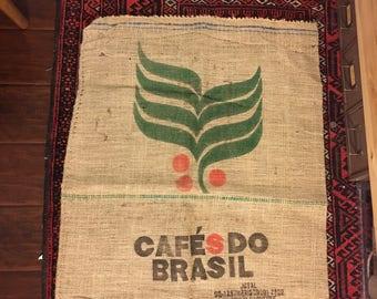 Vintage Burlap Coffee Sack