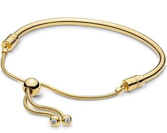 7d37573ff015e Pandora bracelet rose gold   Etsy