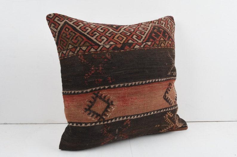 20/'/'x20/'/' Turkish Kilim Pillow Kilim Pillow Case Bohemian Pillow 50x50 cm Handmade Pillow Cover Kilim Cushion Vintage Kilim Pillow