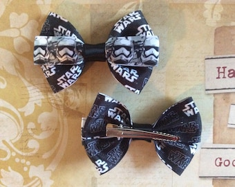 Star Wars Stormtrooper Hair Bow