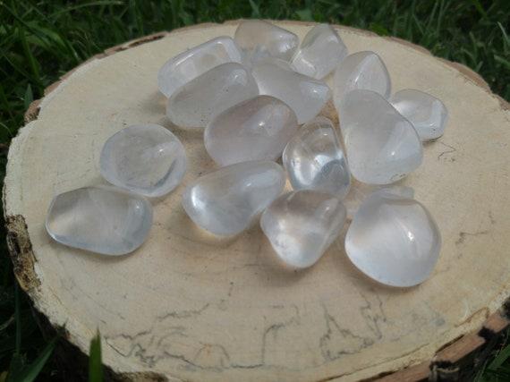 aura extra quality reiki meditation Girasol tumbled stone 30-40 mm