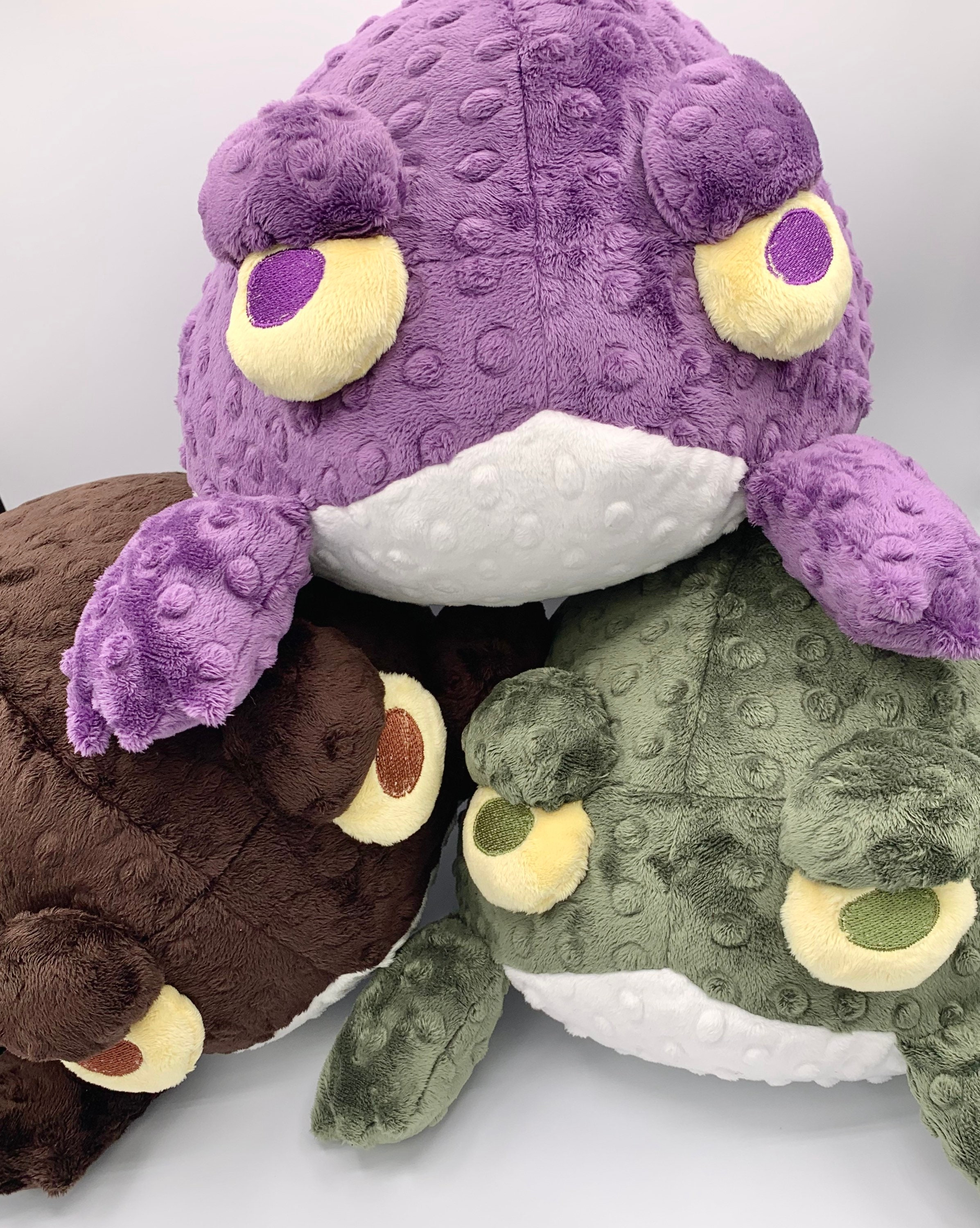 Monster big black booty Big Ugly Terrible Toad Butt Large Soft Cuddly Monster Plush Etsy
