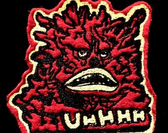 Garamon Kaiju Patch - Fan Made Ultraman Embroidered Sew-on Patch