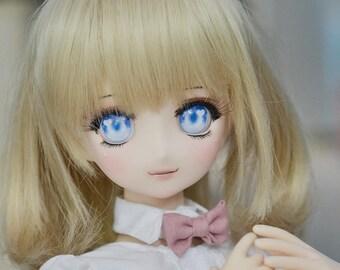 Sparkle Heart [Acrylic Animetic Eyes for Dollfie Dream, SmartDoll, Obitsu Parabox 20mm 22mm 24mm]