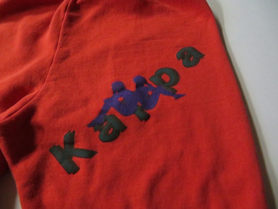 Vintage 90s Kappa Red, Green and Blue Pants Track… - image 1