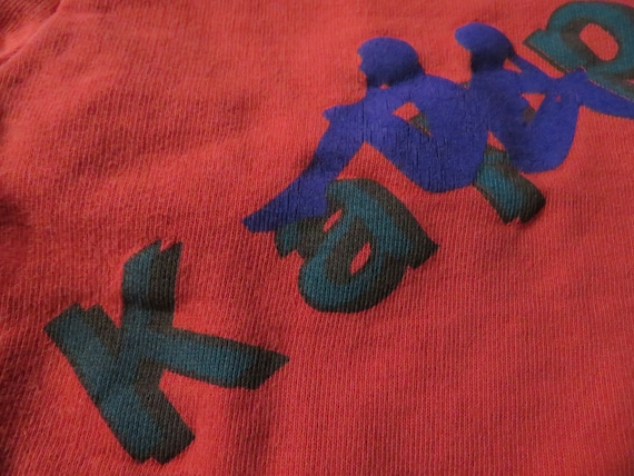 Vintage 90s Kappa Red, Green and Blue Pants Track… - image 4