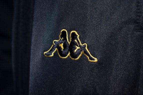 Vintage 90s Kappa Blue and Yellow Pants Trackpant… - image 2