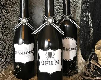 Halloween Potion Bottles Halloween Decorations