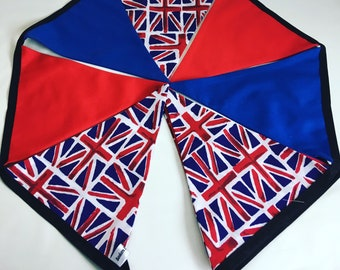 Union Jack royal wedding decoration garland hanging bunting