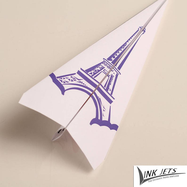 graphic about Printable Paper Airplane titled Paris, Pink, France, enjoy, middle, Printable Paper Aircraft, Paper, plane, Little ones