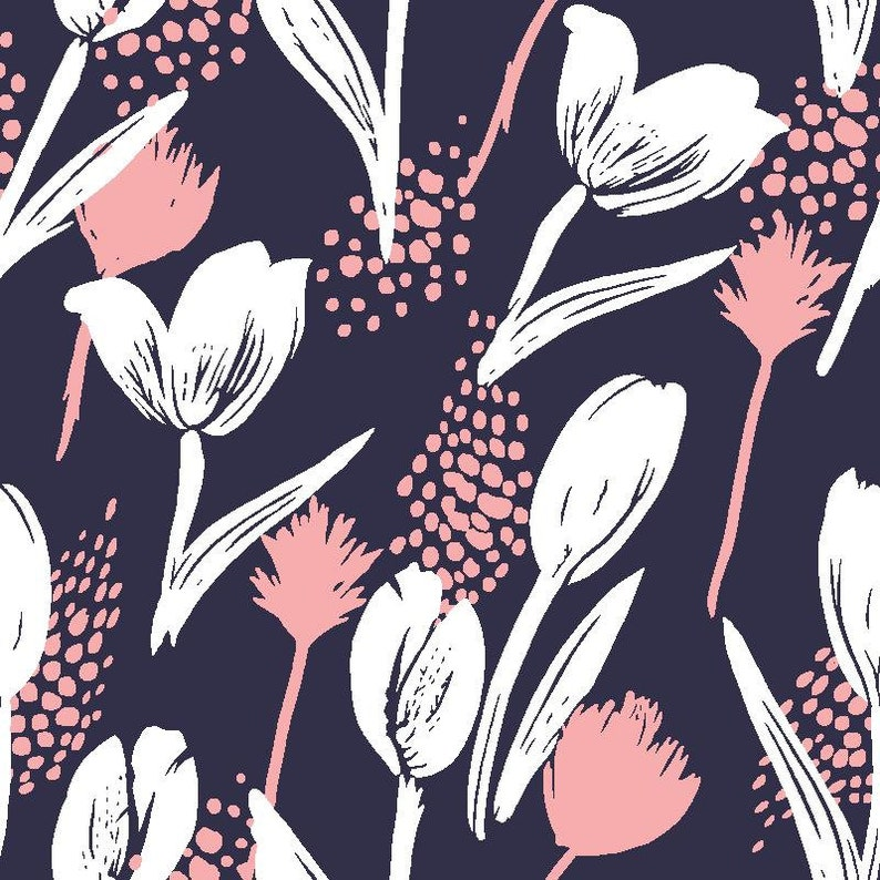 Floral Jersey Mothers gift Apparel Fabric Comfortable Plus Size Clotting Fabric Designer Fabric Fabric By The Yard Cotton Lycra Jersey