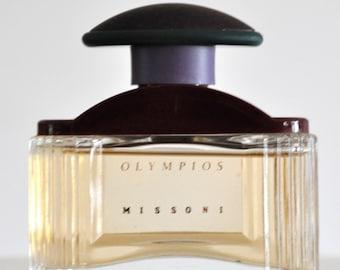 bbf0738dc2 Missoni Olympios Eau de Toilette Edt 50ML 1.7 Fl. Oz. No Vapo Splash Perfume  for Men Rare Vintage Old 1994