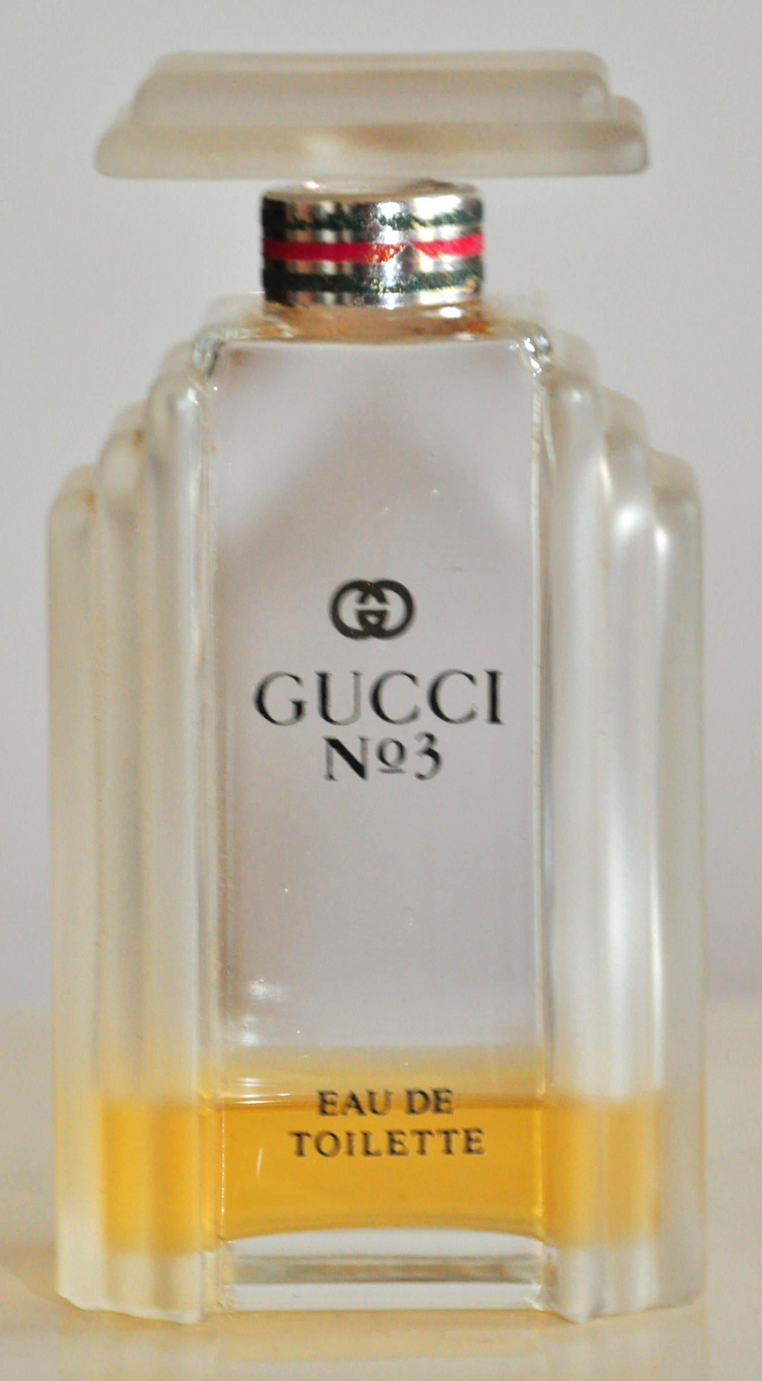 Gucci 3 Parfum Eau De Toilette Spray 60 Ml Edt Zeldzame Etsy