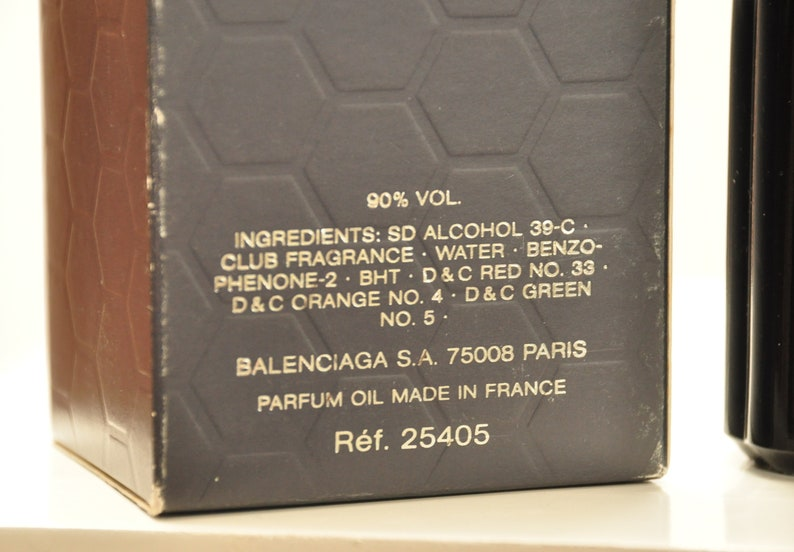 18fa918598581 Balenciaga Ho Hang Club Eau de Toilette Edt 100ml 3.3 Fl. Oz. Spray Perfume  For Man Rare Vintage Old 1997 New