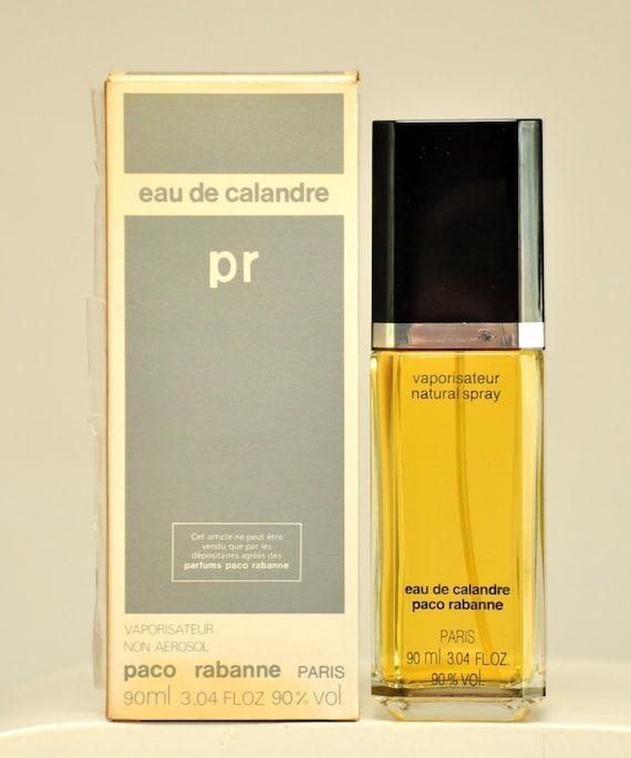 Woman Rare Perfume Version 1980 Rabanne For FlOzSpray Old 3 1969 04 Eau Calandre Paco 90ml Vintage Toilette De 4ALcq5j3R