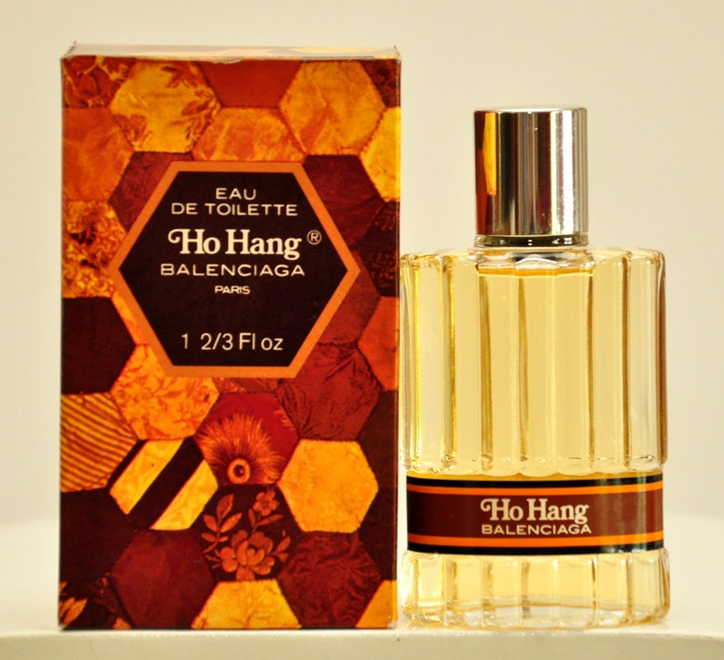 de440f473fbfb Balenciaga Ho Hang Eau de Toilette Edt 50ml 1.2/3 Fl. Oz. No Spray Splash  Perfume For Man Rare Vintage Old 1971 First Version