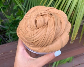 Milk Chocolate Mocha Scented Daiso Clay Butter Slime